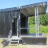 Bühnenwagen Seitenansicht