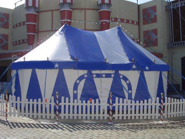 Zirkuszelt 10 m x 7 m