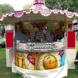 Mobiler Crepes Stand