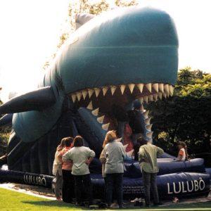 Kinderrutsche Der blaue Hai