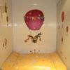 Wickeltisch im Toilettenwagen