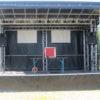 Bühne mit Musikanlage