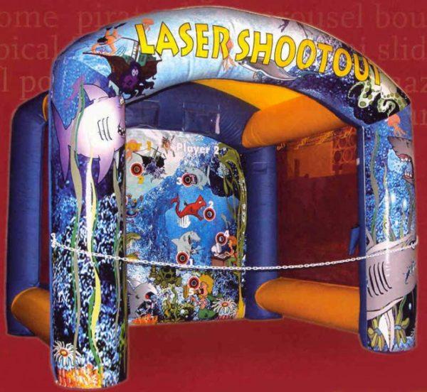Laserschießstand für Kinder
