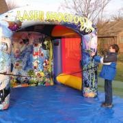 Laserschießen für Kinder