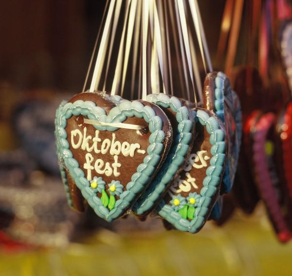 Lebkuchenherzen Oktoberfest