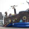 Piratenschiff Wikinger Vorderansicht
