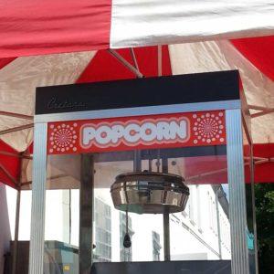 Faltzelt Unterstand für Popcornmaschine