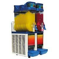 Slush Eismaschine mit 2 Sorten