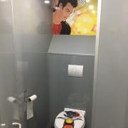 Toilettenkabinen mit Trendy Deko 1