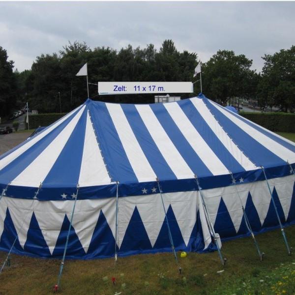 Zelt 11 x 17 Meter